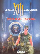 XIII -5a1998- Rouge total