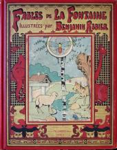 Les fables de La Fontaine (Rabier) -INT- Fables de La Fontaine illustrées par Benjamin Rabier