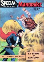 Mandrake (3e Série - Remparts) (Spécial - 1) -27- La ferme des fantômes