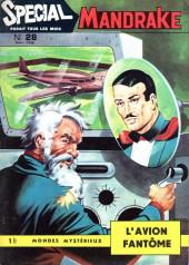 Mandrake (3e Série - Remparts) (Spécial - 1) -28- L'avion fantôme