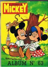(Recueil) Mickey (Le Journal de) (1952) -63- Album n°63 (n° 1155 à 1167)