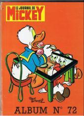 (Recueil) Mickey (Le Journal de) -72- Album n°72 (n° 1267 à 1279)