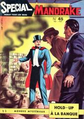 Mandrake (3e Série - Remparts) (Spécial - 1) -45- Hold-up à la banque