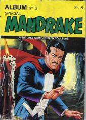 Mandrake (4e Série - Remparts) (Spécial - 2) -Rec05- Album N°5 (du n°15 au n°16)