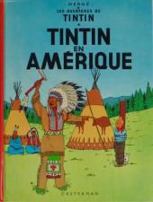 Tintin (Historique) -3C1- Tintin en Amérique