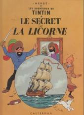 Tintin (Historique) -11C1- Le Secret de la Licorne