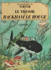 Tintin (Historique) -12C1- Le trésor de Rackham Le Rouge