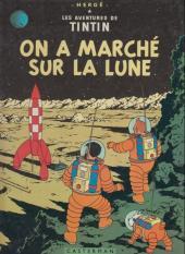 Tintin (Historique) -17C1- On a marché sur la lune
