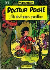 Docteur Poche -2a- L'île des hommes-papillons