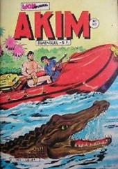 Akim (1re série) -550- L'exode des sables