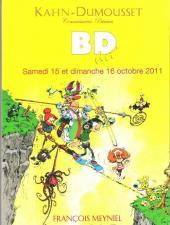 (Catalogues) Ventes aux enchères - Kahn-Dumousset - Kahn-Dumousset - BD art' - samedi 15 et dimanche 16 octobre 2011