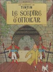 Tintin (Historique) -8B23- Le sceptre d'ottokar