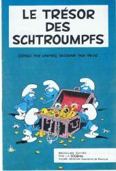 Les schtroumpfs -HS- Le trésor des Schtroumpfs