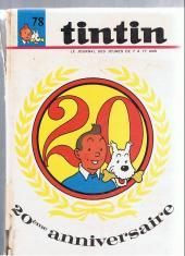 (Recueil) Tintin (Album du journal - Édition française) -78- Tintin album du journal (n° 1042 à 1054)