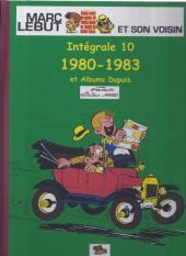 Marc Lebut et son voisin -Int10- Intégrale 10: 1980-1983