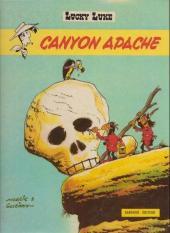 Lucky Luke -37a72- Canyon Apache