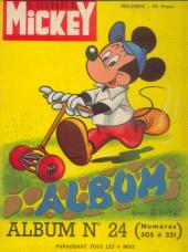 (Recueil) Mickey (Le Journal de) (1952) -24- Album n°24 (n°505 à 521)