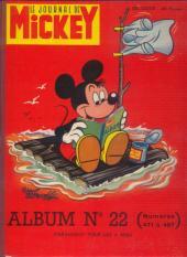 (Recueil) Mickey (Le Journal de) (1952) -22- Album n°22 (n°471 à 487)