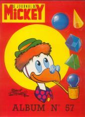 (Recueil) Mickey (Le Journal de) (1952) -57- Album n°57 (n°1071 à 1086)