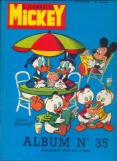 (Recueil) Mickey (Le Journal de) -35- Album n°35 (n°697 à 714)