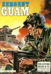Sergent Guam -REC34- Collection reliée N°34 (du N°133 au N°136)