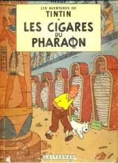 Tintin (Historique) -4B30- Les cigares du pharaon