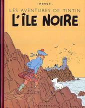 Tintin (Historique) -7B19- L'île noire