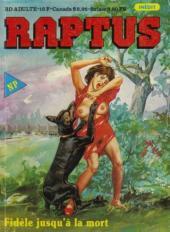 Raptus -3- Fidèle jusqu'à la mort