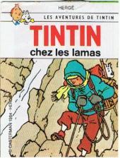 Tintin - Publicités -20Sco8- Tintin chez les lamas