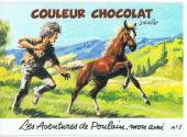 Poulain mon ami -Pub1- Couleur Chocolat