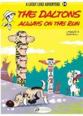 Lucky Luke (en anglais) -2334- The daltons always on the run