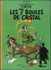 Tintin (Historique) -13B38- Les 7 boules de cristal