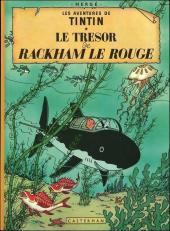 Tintin (Historique) -12B38- Le trésor de Rackham Le Rouge