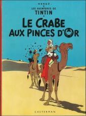 Tintin (Historique) -9B35bis- Le crabe aux pinces d'or