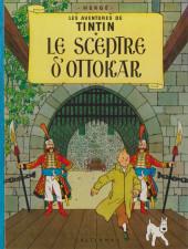 Tintin (Historique) -8B36- Le sceptre d'ottokar