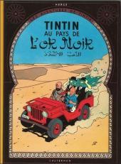 Tintin (Historique) -15C1- Tintin au pays de l'or Noir