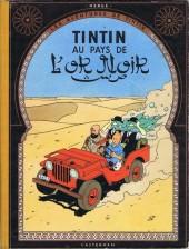 Tintin (Historique) -15B25- Tintin au pays de l'or noir