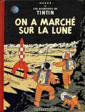 Tintin (Historique) -17B33- On a marché sur la lune