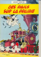 Lucky Luke -9a64- Des rails sur la prairie
