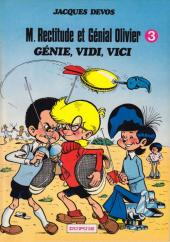Génial Olivier -3a- Génie, Vidi, Vici