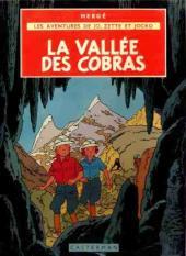 Jo, Zette et Jocko (Les Aventures de) -5B32- La vallée des cobras