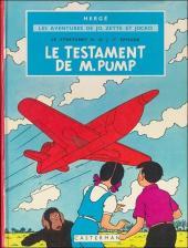 Jo, Zette et Jocko (Les Aventures de) -1B38- Le testament de m. pump