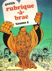 Rubrique-à-Brac -2a1973- Taume 2