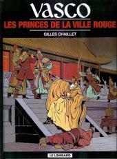 Vasco -12b2001- Les princes de la ville rouge