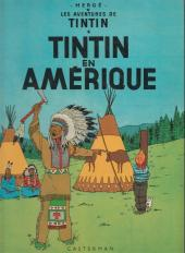 Tintin (Historique) -3C6- Tintin en amérique