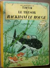 Tintin (Historique) -12B09- Le trésor de Rackham Le Rouge