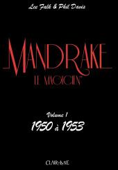 Mandrake le magicien (Clair de lune) -1- Volume 1 : 1950 à 1953