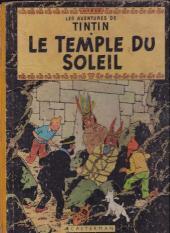 Tintin (Historique) -14B12- Le temple du soleil