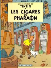 Tintin (Historique) -4C5- Les cigares du pharaon