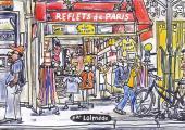 (AUT) Lolmède - Reflets de Paris